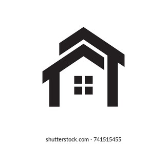House Logo Template Design Vector, Emblem, Design Concept, Creative Symbol, Icon