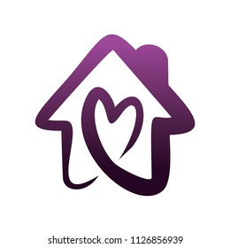 house love logo