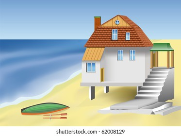 The house on the sea