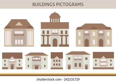 house pictograms