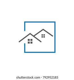 House and Real Estate Business Logo Template