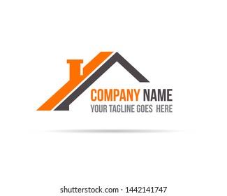 House Real Estate Logo Template Vector