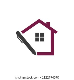 House Real Estate Pen Note Annotation