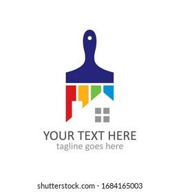 House repair vector logo template