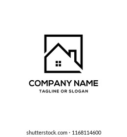 House roof related to apartment logo, property logo, house rent icon, real estate or building architecture