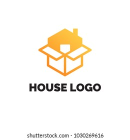 House Sale Logo design template.