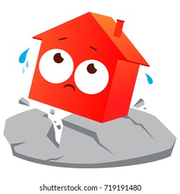 Earthquake Cartoon Images Stock Photos Vectors Shutterstock