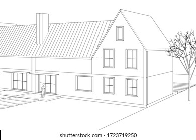 house traditional roof townhouse 3d 260nw 1723719250