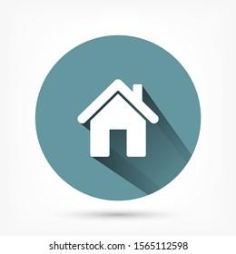 House vector icon , lorem ipsum Flat design