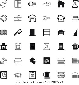 house vector icon set such as: entrance, stacked, burn, signboard, map, windows, traditional, shelves, auto, creative, gift, plunger, farm, life, fashion, entry, work, gate, rubber, fuel, comfortable