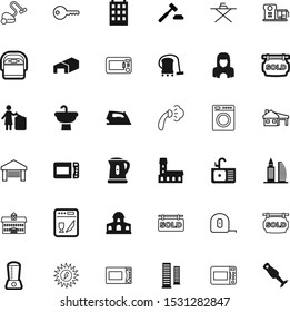 house vector icon set such as: perspective, cell, tea, governmental, justice, icone, safety, trash, measure, smoothing, thermal, government, measuring, secret, shower, innocence, gavel, storage