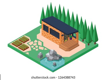 House In Vector (Isometric 9)