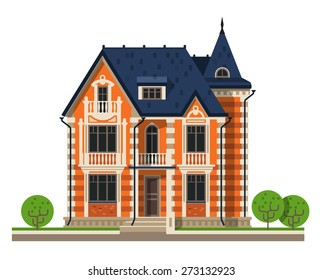 house vector logo design template. construction, building or architecture icon.