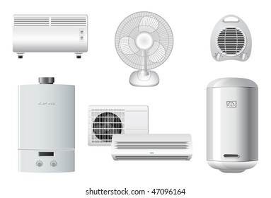Household appliances   Heating and air conditioning