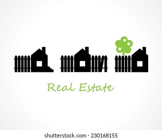 houses. real estate concept