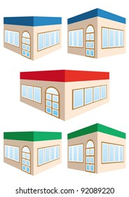 house/store vector