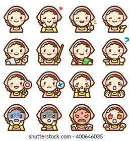 housewife expression set