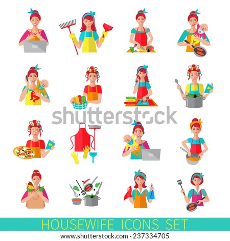 working woman or housewife