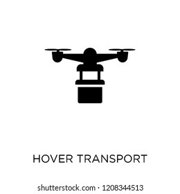 Hover transport icon. Hover transport symbol design from Future technology collection.
