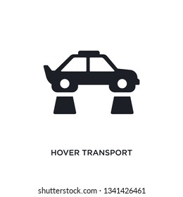hover transport isolated icon. simple element illustration from artificial intellegence concept icons. hover transport editable logo sign symbol design on white background. can be use for web and