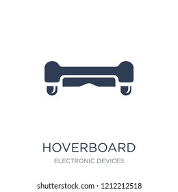 Hoverboard icon. Trendy flat vector Hoverboard icon on white background from Electronic devices collection, vector illustration can be use for web and mobile, eps10