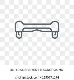 Hoverboard icon. Trendy flat vector Hoverboard icon on transparent background from Electronic devices collection. High quality filled Hoverboard symbol use for web and mobile