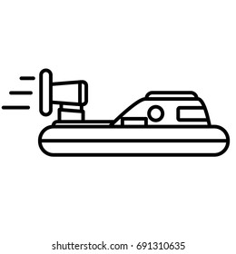 hovercraft boat icon