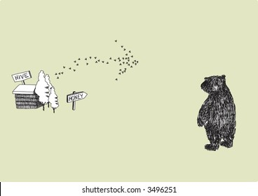How to gently persuade a bear