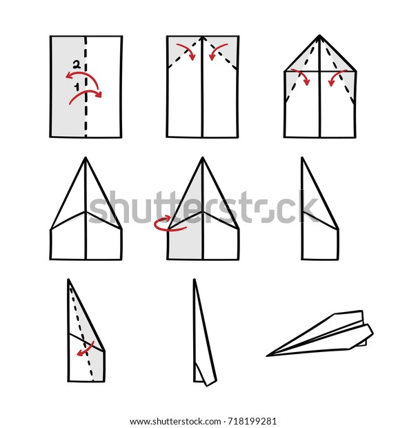 Airfoil Plane Diagram Stock Vector Illustration Of Vector Manual Guide