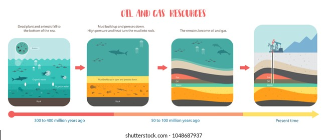 how to petroleum fossil fuel was form oil and gas underground