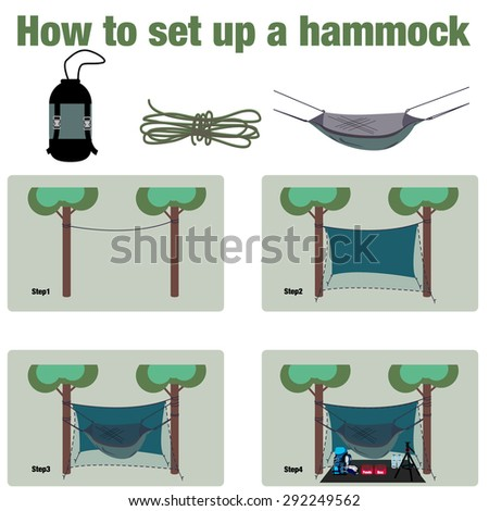 How To Setup A Hammock For Camping In The Rainforrest