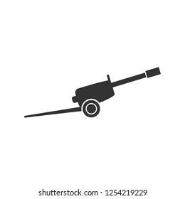 Howitzer. Icon Flat