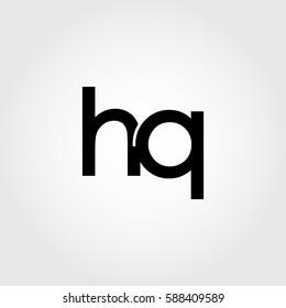 hq lowercase logo black interrelated