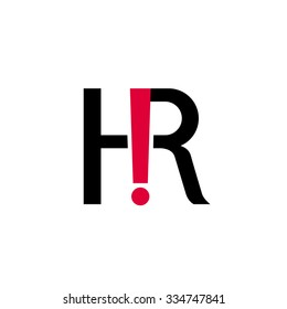 HR vector icon for web, print, corporate usage, presentation, etc.