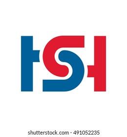 HS initial Logo - SH initial Logo