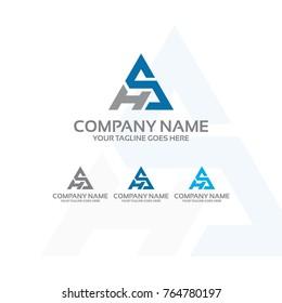 hs - logo template