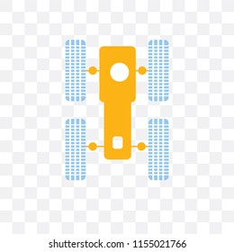 Hubble space telescope vector icon isolated on transparent background, Hubble space telescope logo concept