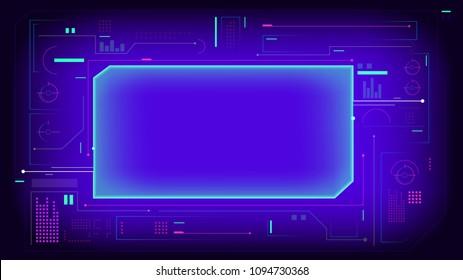 hud display interface elements