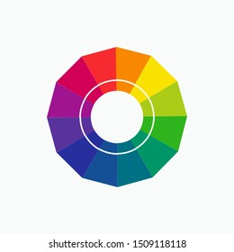 Hue of Color Icon - Vector, Sign and Symbol for Design, Presentation, Website or Apps Elements.