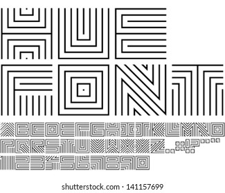 Hue Font - Thin