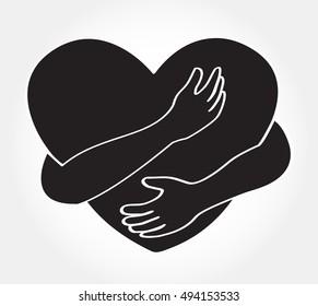 hug the heart