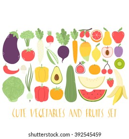 huge set with cute fruits and vegetables. can be used like stickers, for greeting cards, recipes, smoothies, cooking etc