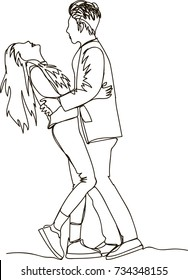 couple sketch images stock photos amp vectors shutterstock