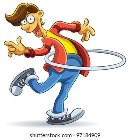 Hula Hoop Man