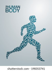 The Human Body concept in editable vector format