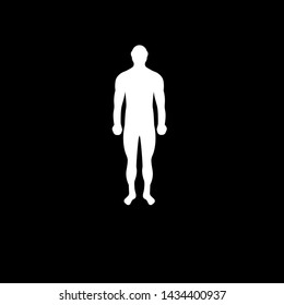 Human Body Silhouettehuman Iconbody Icon Be Stock Vector Royalty Free 1434400937 25,000+ vectors, stock photos & psd files. human body silhouettehuman iconbody