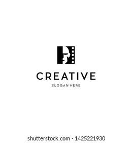 Human Creator Production Film Studio Logo