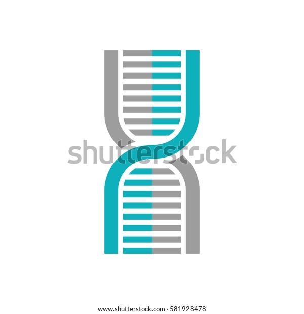 Human dna symbol icon vector illustration graphic design