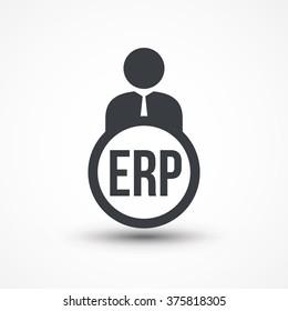 erp icon images stock photos vectors shutterstock