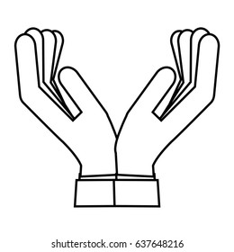 human hands icon